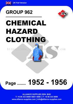 962 - Chemical Hazard Clothing