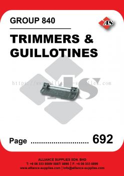 840-Trimmers and Guillotines