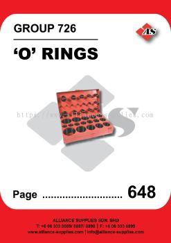 726-'O' Rings