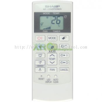 CRMC-A876JBEZ SHARP AIR CONDITIONING REMOTE CONTROL