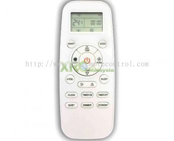 DG11L1-01 HISENSE AIR CONDITIONING REMOTE CONTROL