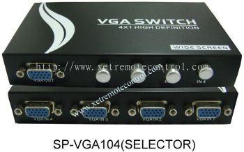 SPVGA-14S 4 WAY VGA SELECTOR SPLITTER