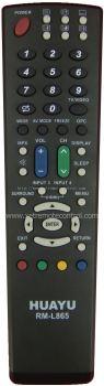 RM-L865 SHARP LCD/LED TV REMOTE CONTROL