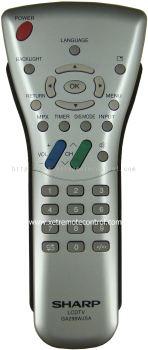 GA298WJSA SHARP LCD/LED TV REMOTE CONTROL