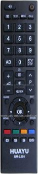 RM-D890 TOSHIBA LCD/LED TV REMOTE CONTROL