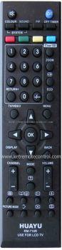 RM-710R JVC LCD/LED TV REMOTE CONTROL