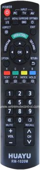 RM-1020M PANASONIC LCD/LED TV REMOTE CONTROL