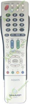 GA707WJSA SHARP LCD/LED TV REMOTE CONTROL