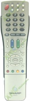 GA492WJSA SHARP LCD/LED TV REMOTE CONTROL