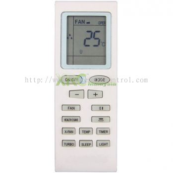 YB1FA SHARP AIR CONDITIONING REMOTE CONTROL