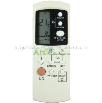 GZ1002A-E2 DAEWOO AIR CONDITIONING REMOTE CONTROL