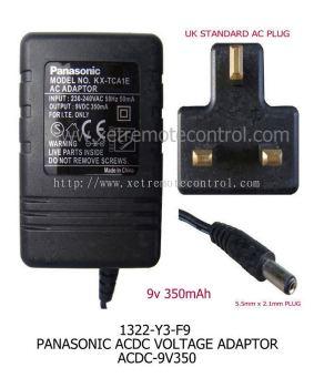 12V 1A CCTV POWER ADAPTER-Transformer Regulator IC Type)