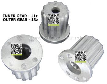 WM-SG22527528 LG WASHING MACHINE PULSATOR SHAFT GEAR