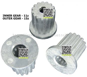 WM-SG253132 LG WASHING MACHINE PULSATOR SHAFT GEAR