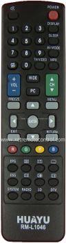 RM-L1046 SHARP LCD/LED TV REMOTE CONTROL