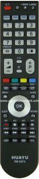 RM-D875 HITACHI LCD/LED TV REMOTE CONTROL