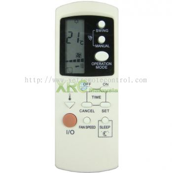 GZ1002A-E2 GALANZ AIR CONDITIONING REMOTE CONTROL