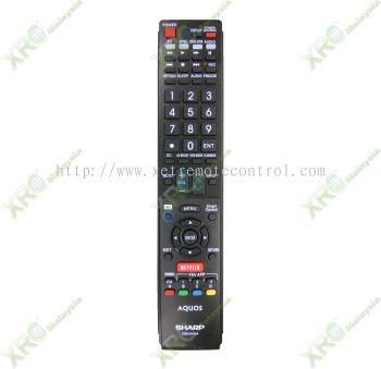 GB005WJSA SHARP NETFLIX SMART LCD LED TV REMOTE CONTROL