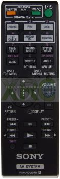 RM-ADU078 SONY HOME THEATER REMOTE CONTROL