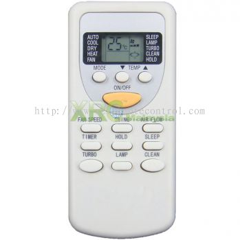 SINGER AIR CONDITIONING REMOTE CONTROL
