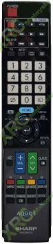 GB039WJSA SHARP 3D SMART LED TV REMOTE CONTROL