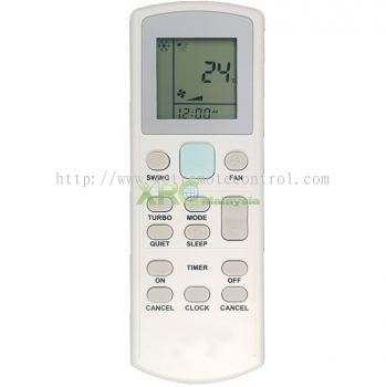 ECGS02 ACSON AIR CONDITIONING REMOTE CONTROL