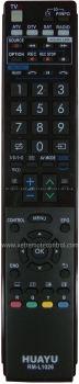 RM-L1026 SHARP LCD/LED TV REMOTE CONTROL