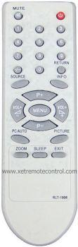 RLT-1906 HESSTAR LCD/LED TV REMOTE CONTROL