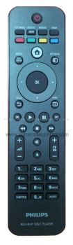 RD-01BRPH (original) PHILIPS BLU-RAY DVD REMOTE CONTROL