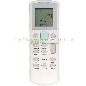 APGS02 DAIKIN AIR CONDITIONING REMOTE CONTROL
