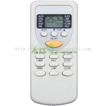 CS-66C3A ISONIC AIR CONDITIONING REMOTE CONTROL