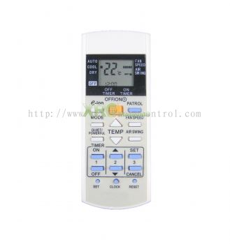 A75C3568 PANASONIC AIR CONDITIONING REMOTE CONTROL