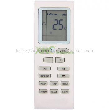 SAP-K7BG3 SANYO AIR CONDITIONING REMOTE CONTROL