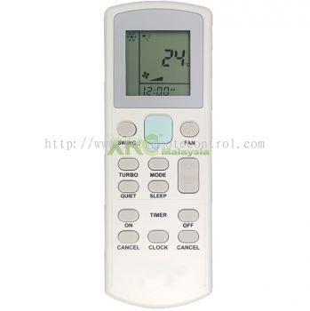 ECGS02 YORK AIR CONDITIONING REMOTE CONTROL
