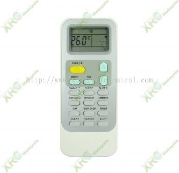 HAC-12VQN HISENSE AIR CONDITIONING REMOTE CONTROL