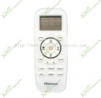AN10TQG HISENSE AIR CONDITIONING REMOTE CONTROL
