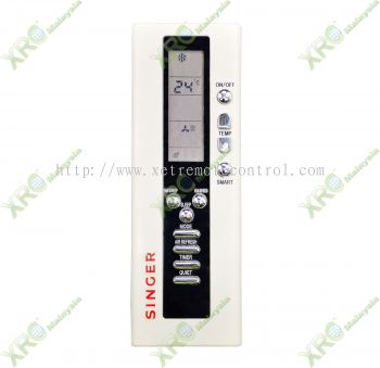 AC6128H SINGER AIR CONDITIONING REMOTE CONTROL