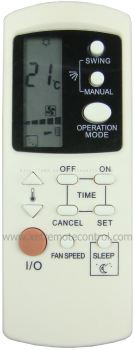 MAC152 MISTRAL AIR CONDITIONING REMOTE CONTROL