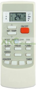 MAC103 MISTRAL AIR CONDITIONING REMOTE CONTROL