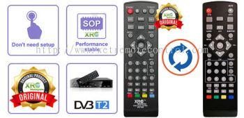 VSM DVB-T2 REMOTE CONTROL