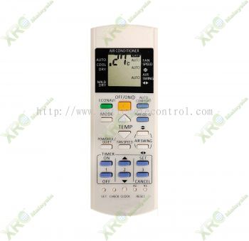 A75C3871 PANASONIC AIR CONDITIONING REMOTE CONTROL