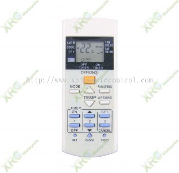 A75C2606 PANASONIC AIR CONDITIONING REMOTE CONTROL