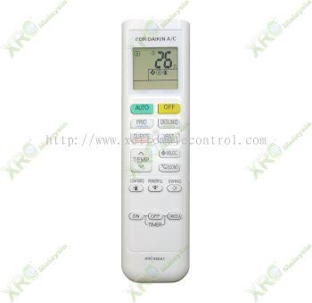ARC480A1 DAIKIN AIR CONDITIONING REMOTE CONTROL