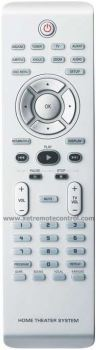 RM-D692 PHILIPS HOME THEATER REMOTE CONTROL  (original)