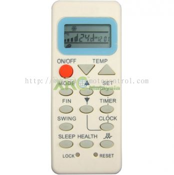 YL-M02 HAIER AIR CONDITIONING REMOTE CONTROL