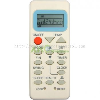 YL-M09 HAIER AIR CONDITIONING REMOTE CONTROL