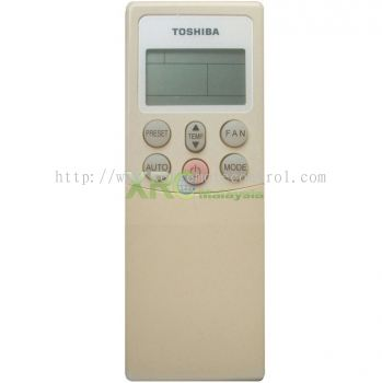 WC-H01EE TOSHIBA AIR CONDITIONING REMOTE CONTROL