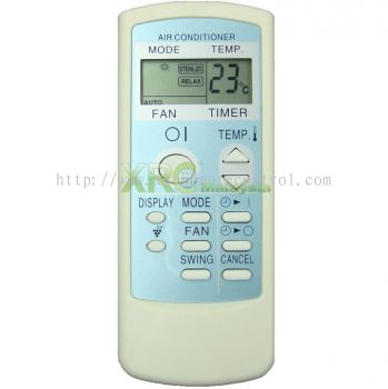 CRMC-A660JBEZ SHARP AIR CONDITIONING REMOTE CONTROL