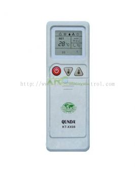 KT-DK08 DAIKIN UNIVERSAL MULTI AIR CONDITIONING REMOTE CONTROL
