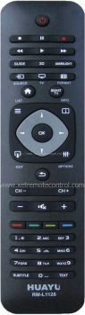 RM-L1128 PHILIPS LCD/LED TV REMOTE CONTROL